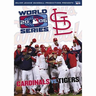 St Louis Cardinals 2006 World Series DVD
