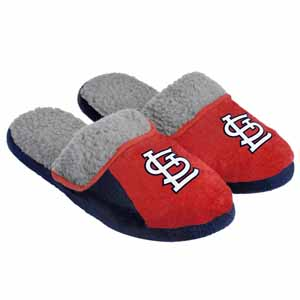 St. Louis Cardinals 2012 Sherpa Slide Slippers - Small
