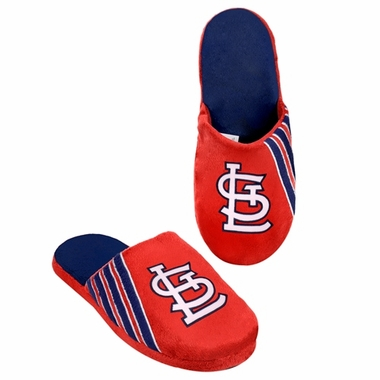 St. Louis Cardinals 2012 Team Stripe Logo Slippers