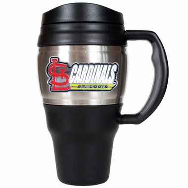 St Louis Cardinals 20oz Oversized Travel Mug