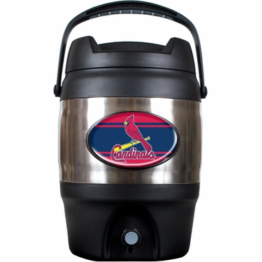 St Louis Cardinals 3 Gallon Stainless Steel Jug