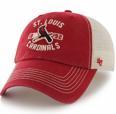 St. Louis Cardinals 47 Brand Underhill Mesh Back Stretch Fit Hat