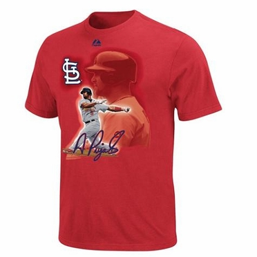 St Louis Cardinals Albert Pujols YOUTH Player of the Game T-Shirt