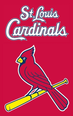 St Louis Cardinals Applique Banner Flag