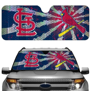St Louis Cardinals Auto Sun Shade