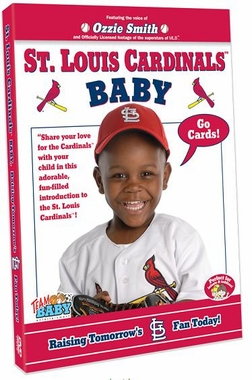 "St. Louis Cardinals Baby ""Raising Tomorrow's Cardinal Fan Today!"" DVD"