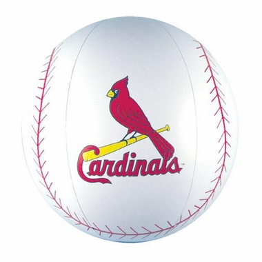 St Louis Cardinals Beach Ball