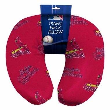 St Louis Cardinals Beaded Neck Pillow