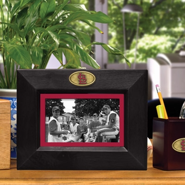 St Louis Cardinals BLACK Landscape Picture Frame