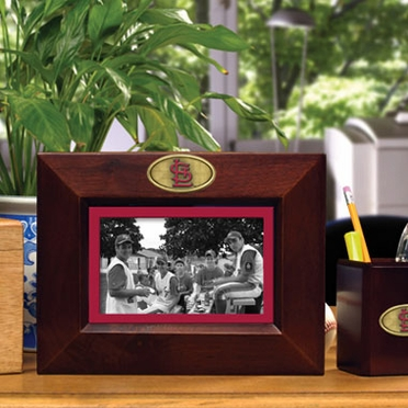 St Louis Cardinals BROWN Landscape Picture Frame