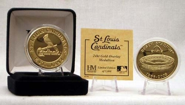 St. Louis Cardinals BUSCH STADIUM GOLD COIN