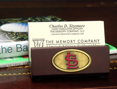 St Louis Cardinals Business Card Holder