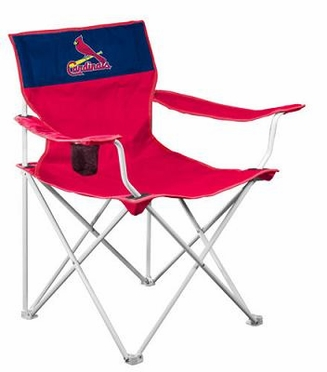 St Louis Cardinals Canvas Adult Folding Logo Chair