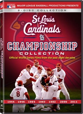 St Louis Cardinals Championship World Series Film Collection DVD Set