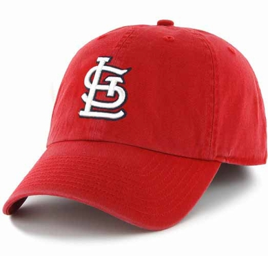 St. Louis Cardinals Clean Up Adjustable Hat - Red