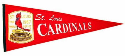 St Louis Cardinals Cooperstown Wool Pennant