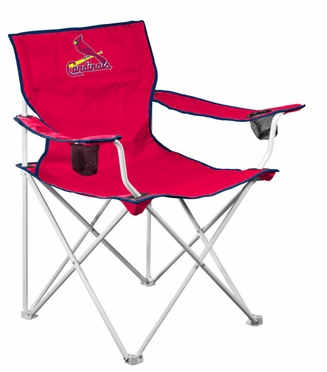 St Louis Cardinals Deluxe Adult Folding Logo Chair