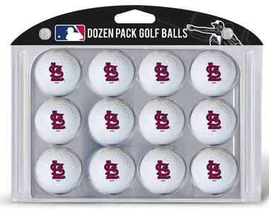 St Louis Cardinals Dozen Golf Balls