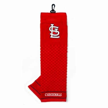 St Louis Cardinals Embroidered Golf Towel