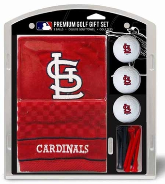 St Louis Cardinals Embroidered Towel Gift Set