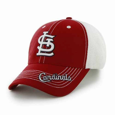 St. Louis Cardinals Flux Structured Adjustable Mesh Hat