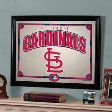 St Louis Cardinals Framed Mirror