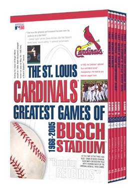 St Louis Cardinals Greatest Games of Busch Stadium DVD SET