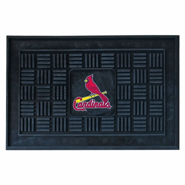 St Louis Cardinals Heavy Duty Vinyl Doormat