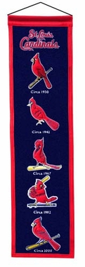 St Louis Cardinals Heritage Banner