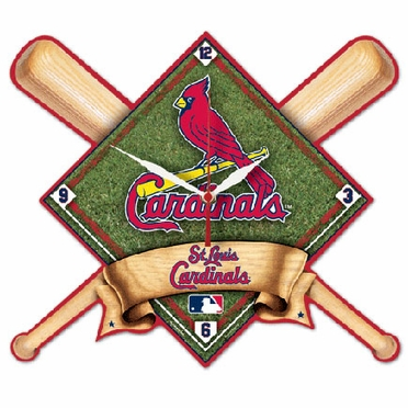 St Louis Cardinals High Definition Wall Clock