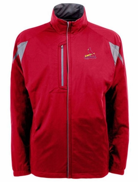St Louis Cardinals Mens Highland Water Resistant Jacket (Team Color: Red)