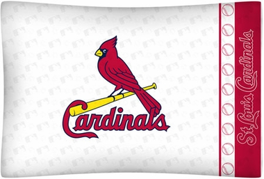 St Louis Cardinals Individual Pillowcase