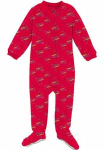 St Louis Cardinals Infant Footed Coverall Sleeper - 3T