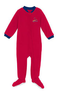 St Louis Cardinals Infant Footed Sleeper Pajamas - 12 Months