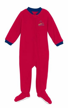 St Louis Cardinals Infant Footed Sleeper Pajamas