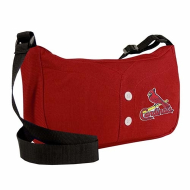 St Louis Cardinals Jersey Material Purse