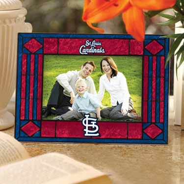 St Louis Cardinals Landscape Art Glass Picture Frame