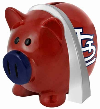 St Louis Cardinals Large Thematic Piggy Bank