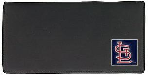 St Louis Cardinals Leather Checkbook Cover (F)