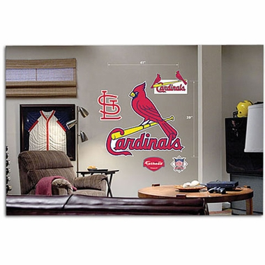 St Louis Cardinals Logo Fathead Wall Graphic