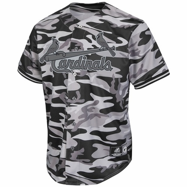 St. Louis Cardinals Majestic Camouflage Replica Jersey