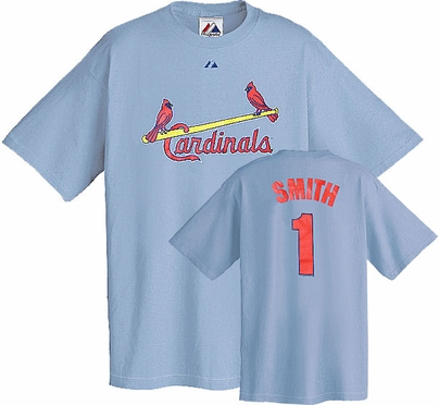 St Louis Cardinals Ozzie Smith Name and Number T-Shirt