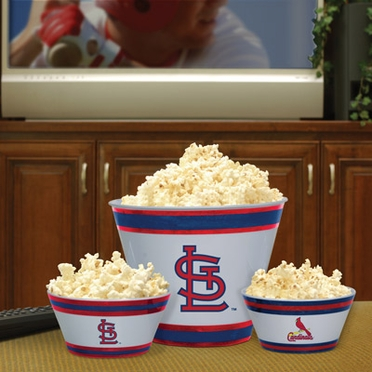 St Louis Cardinals Plastic Serving Set