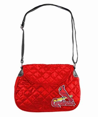 St Louis Cardinals Quilted Saddlebag