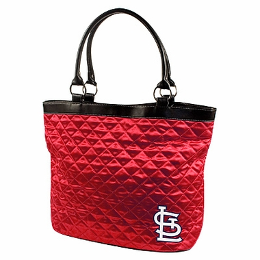 St Louis Cardinals Quilted Tote