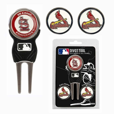 St Louis Cardinals Repair Tool and Ball Marker Gift Set