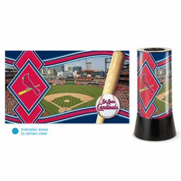 St Louis Cardinals Rotating Lamp
