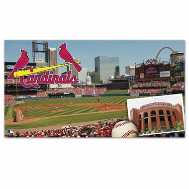 St Louis Cardinals Runner Mat