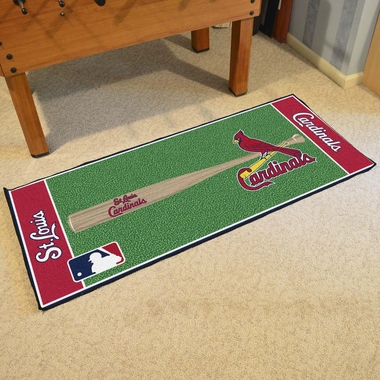 St Louis Cardinals Runner Rug