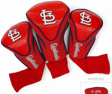 St Louis Cardinals Set of Three Contour Headcovers